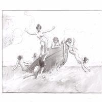 Boat sketch (digital)